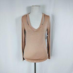 Charlotte Russe Light Pink Long Sleeve